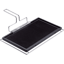 Griddle plate For grilling and frying meat, fish, vegetables and much more.