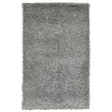 See Details - Damroo Shag Silver/Black 3.5x5.5