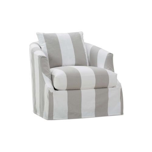 Emmerson Slipcover Swivel Chair