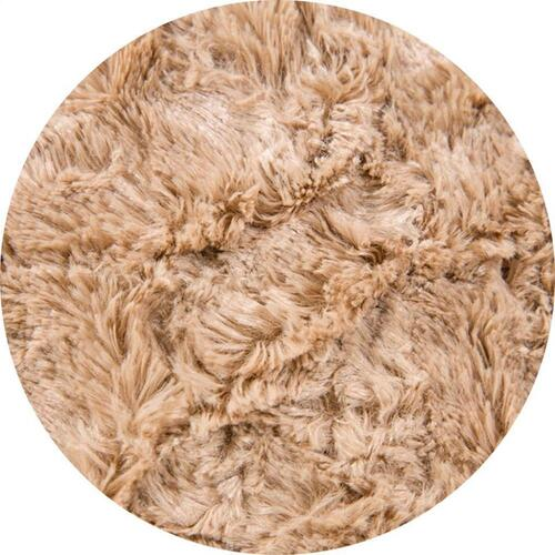 Queen Cover - Faux Fur - Tan