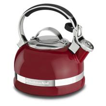 1.9 L Stove-top Kettle with Full Stainless Steel Handle and Trim Band - Empire Red