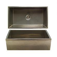 Reservoir Apron Front Sink - KS3620 Silicon Bronze Light