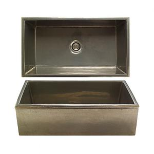Reservoir Apron Front Sink - KS3620 Silicon Bronze Brushed Product Image