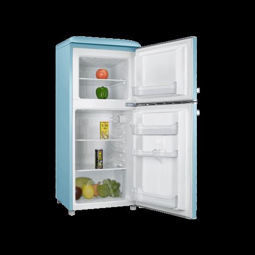 Galanz 4.0 Cu Ft Retro Top Mount Refrigerator in Bebop Blue