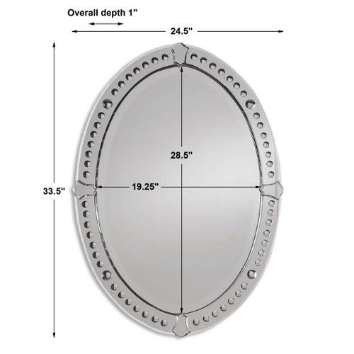 Uttermost - Graziano Oval Mirror