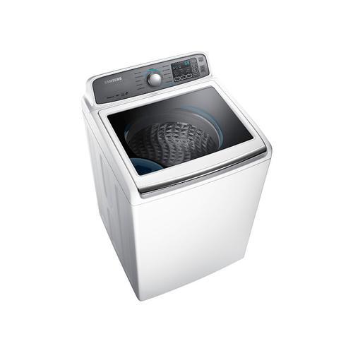 Samsung - WA7400 4.8 cu. ft. Top Load Washer with AquaJet reg