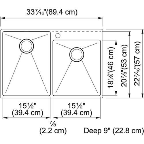 Franke - Vector Stainless Steel