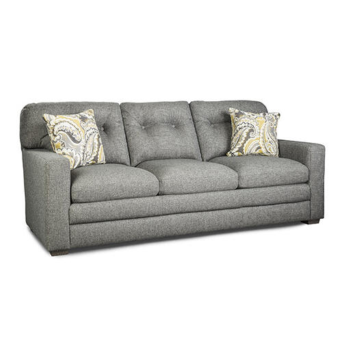Cabrillo Stationary Leather Sofa