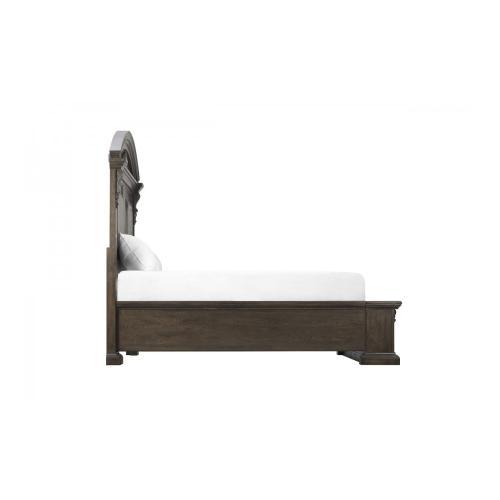 Vintage Salvage Chambers Panel California King Bed
