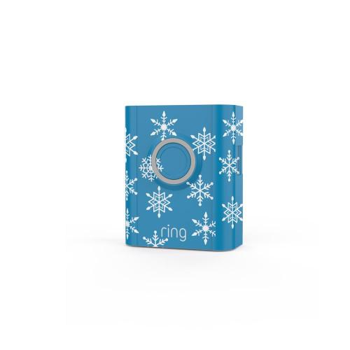 Holiday Interchangeable Faceplate (for Video Doorbell 3 and Video Doorbell 3 Plus) - Snowflakes