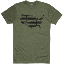 Men's Military Heather USA Grill Mark T-Shirt