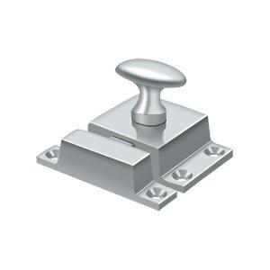 "Deltana - Cabinet Lock, 1-1/2"" x 1-3/4"" - Polished Chrome"