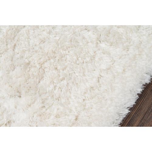 Snow Shag Ss-01 Snow Shag White - 8.0 x 10.0