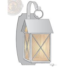 Custom Colonial Sconce