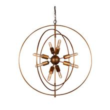 See Details - Cosmos Iron Chandelier Small