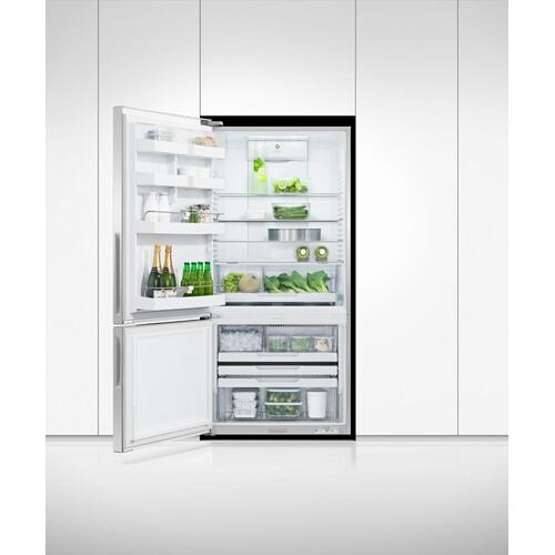 "Fisher & Paykel - Freestanding Refrigerator Freezer, 32"", 17.5 cu ft, Ice & Water"