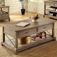 Windhaven - Rectangular Coffee Table - Shenandoah Barnwood Finish
