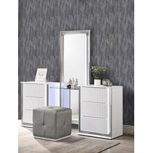 ASPEN WHITE VANITY SET W/STOOL