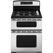 """30"""" Freestanding Gas Double Oven Range with Convection  Ranges  Jenn-Air"""