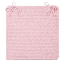 "Westminster Chair Pad WM51 Blush Pink 15"" X 15"" (Set 4)"