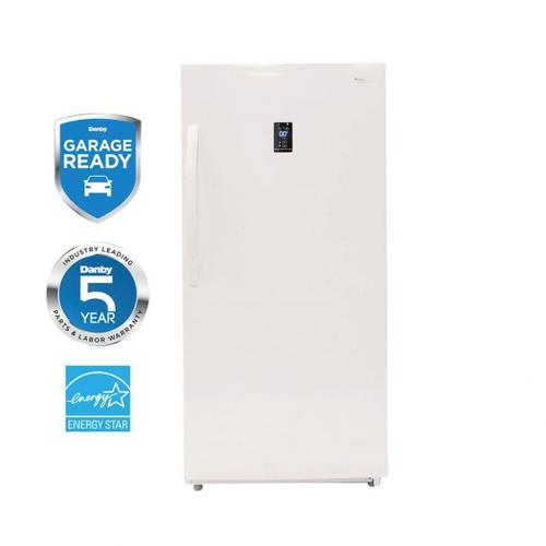 View Product - Danby Designer 14 cu. ft. Convertible Upright Freezer or Refrigerator