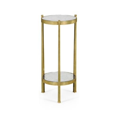 glomise & Gilded Iron Wine Table