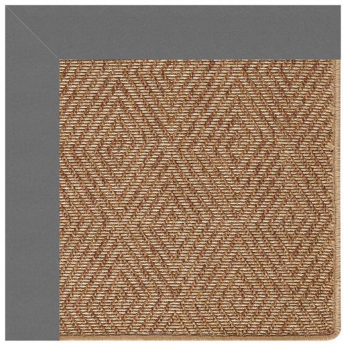 "Islamorada-Diamond Canvas Charcoal - Rectangle - 24"" x 36"""