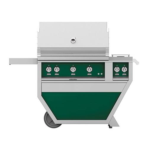 """Hestan - 36"""" Hestan Outdoor Deluxe Grill with Double Side Burner - G_BR__CX_ Series - Grove"""
