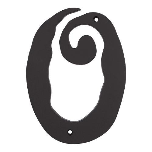 Large Scroll #0 - Matte Black