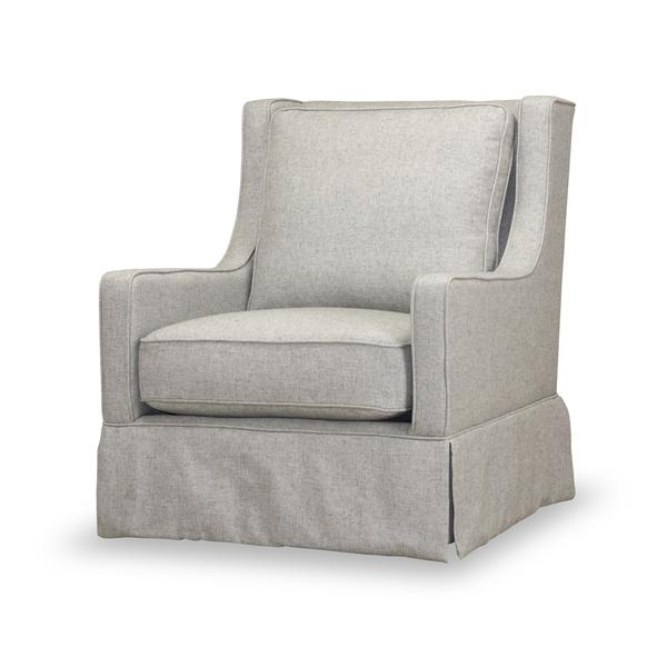 See Details - Kelly Swivel Chair in Felicity Stone