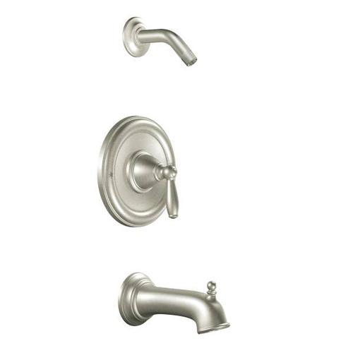 Brantford brushed nickel posi-temp® tub/shower