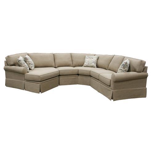 Capris Furniture - 403 Sectional Kch
