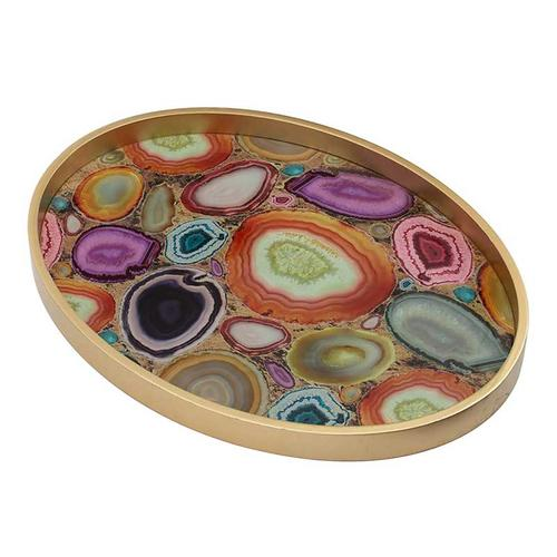 Livonia Tray,Multi-Colored