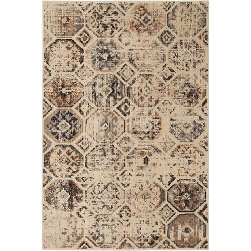 "Elements Tunis Beige 5' 3""x7' 10"""