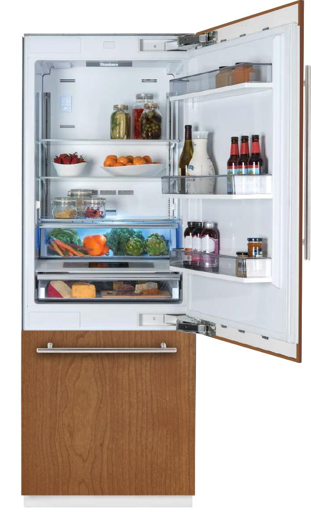 30in Built-in Fridge, Panel Ready, with ice