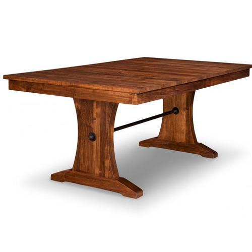 - Glengarry Pedestal 48x84+4-12 Dining Table