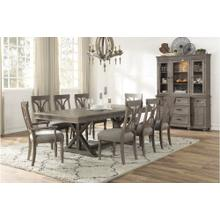 Cardano 7pc Dining Set (includes: Table & 6 Side Chairs)
