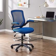 See Details - Veer Drafting Chair in Blue