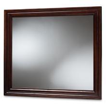 See Details - Baxton Studio Barton Modern and Contemporary Dark Brown Finished Wood Dresser Mirror