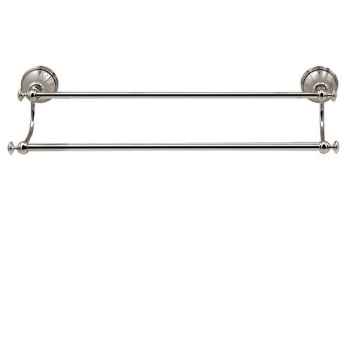 "20"" wallmount double towel bar"