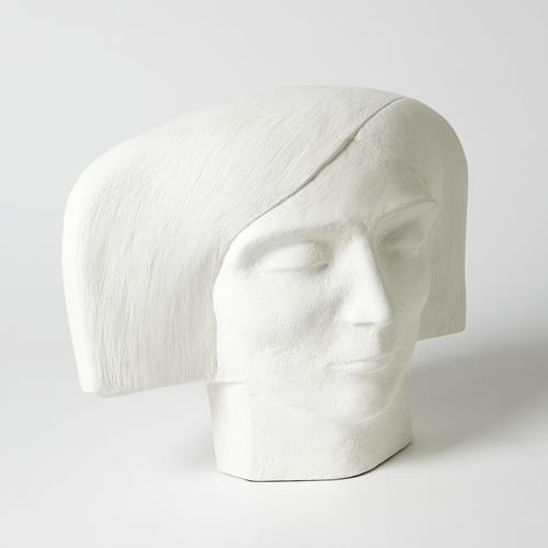 Plaster Bust-Female