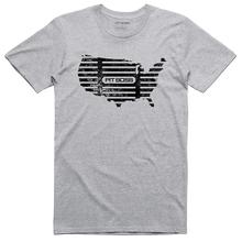 Men's Grey Heather USA Grill Mark T-Shirt
