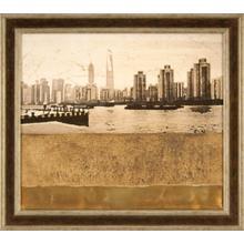Texture Embellished Cityscape II