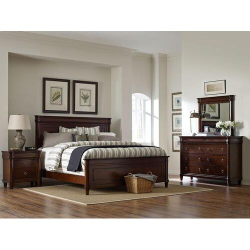 Aryell Panel Bed, Queen
