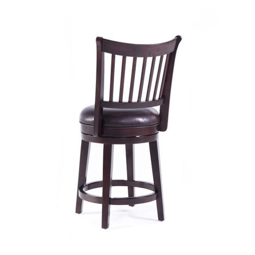 Spencer 24 inch Wood Swivel Barstool