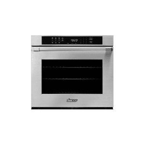 "Dacor  30"" Single Wall Oven, Silver Stainless Steel with Pro Style Handle"