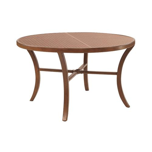 """Castelle - 44"""" Transitional Round Coffee Table"""