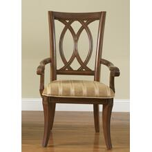 View Product - Oval Back Arm Chair