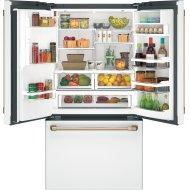 Cafe™ ENERGY STAR® 27.8 Cu. Ft. Smart French-Door Refrigerator with Hot Water Dispenser