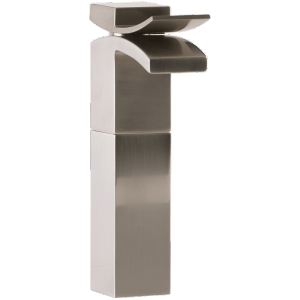 Quarto Vessel Lav Faucet Brushed Nickel Product Image